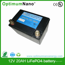 LiFePO4 Battery 12V 20ah for Caravans